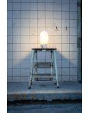 ETH Minion Tafellamp | Grijs/Beton | Opaal Glas Tafellampen